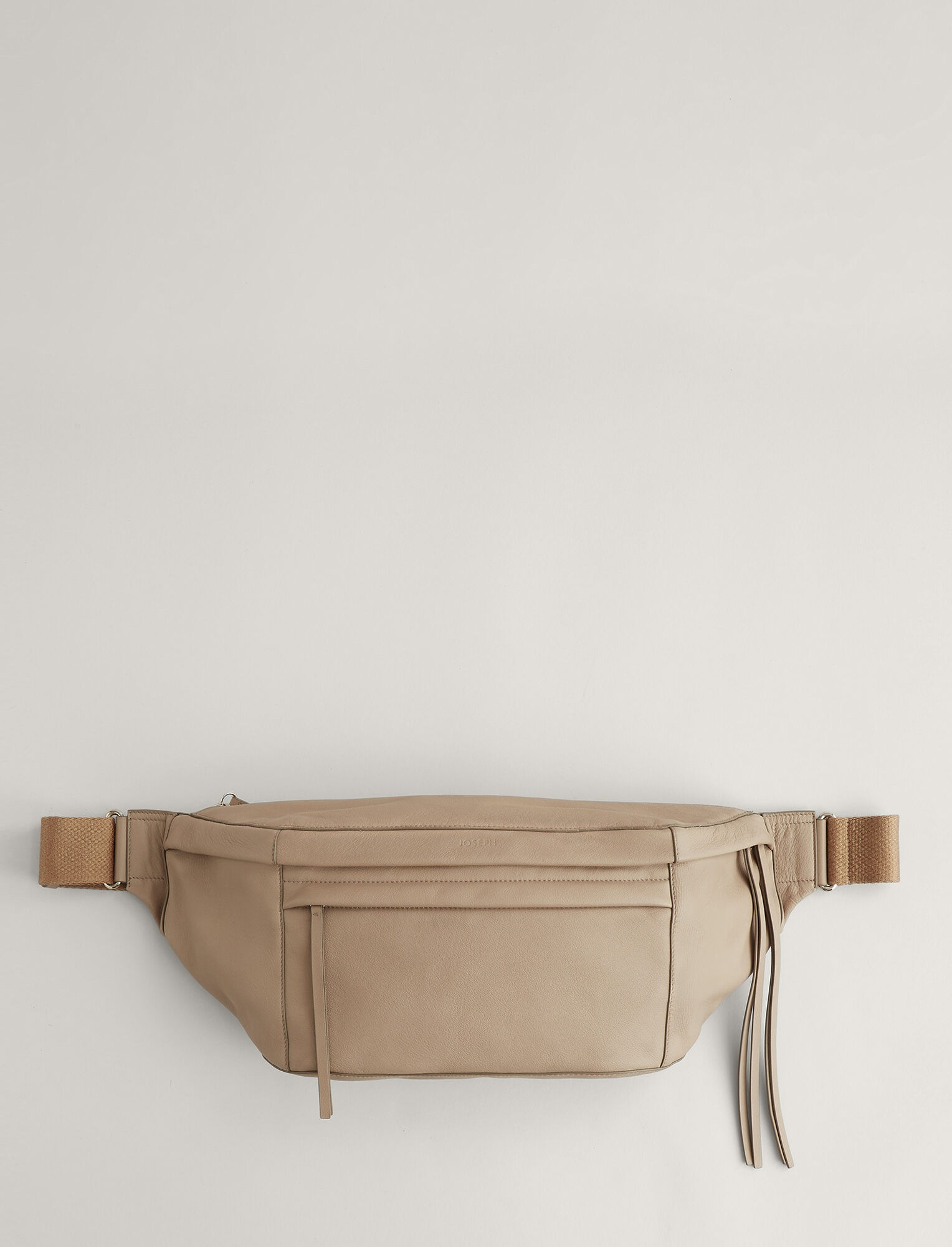 Joseph, Harley Leather Bag, in TAUPE