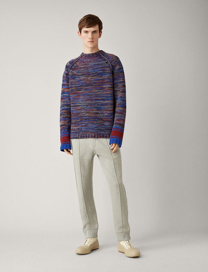 Joseph, Trackpants Molleton Jersey, in GREY CHINE