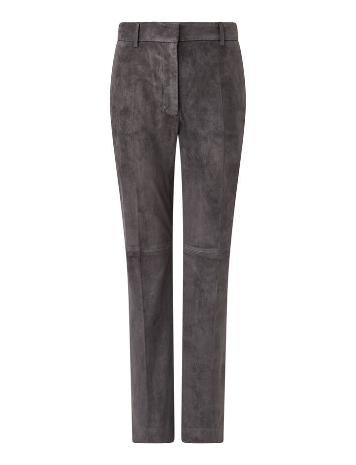 Joseph, Coleman-Suede Stretch, in ANTHRACITE