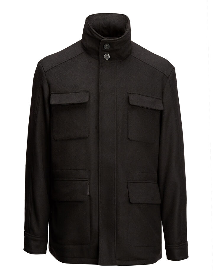 Joseph, Leon Felt Jacket, in BLACK