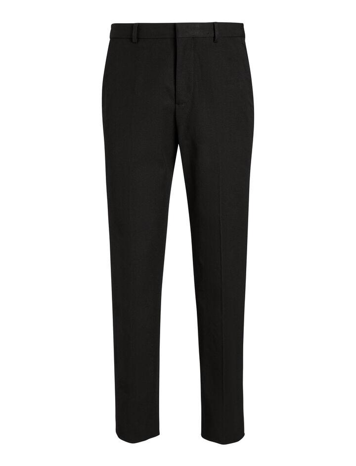 Joseph, Jack Gabardine Stretch Trousers, in BLACK