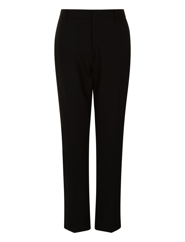Joseph, Zoom Comfort Wool Trousers, in BLACK