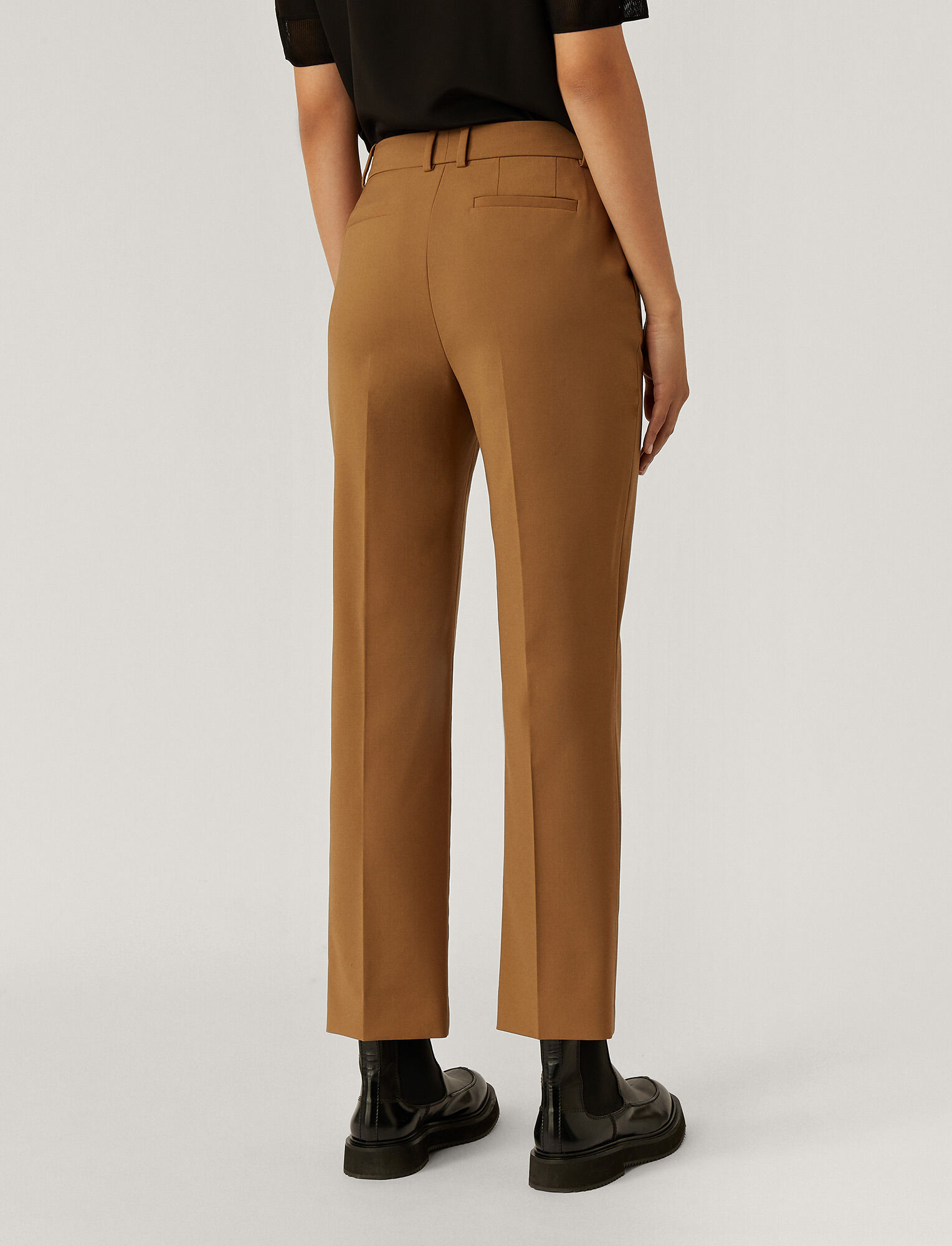 Joseph, Coleman Light Wool Trousers, in Saddle