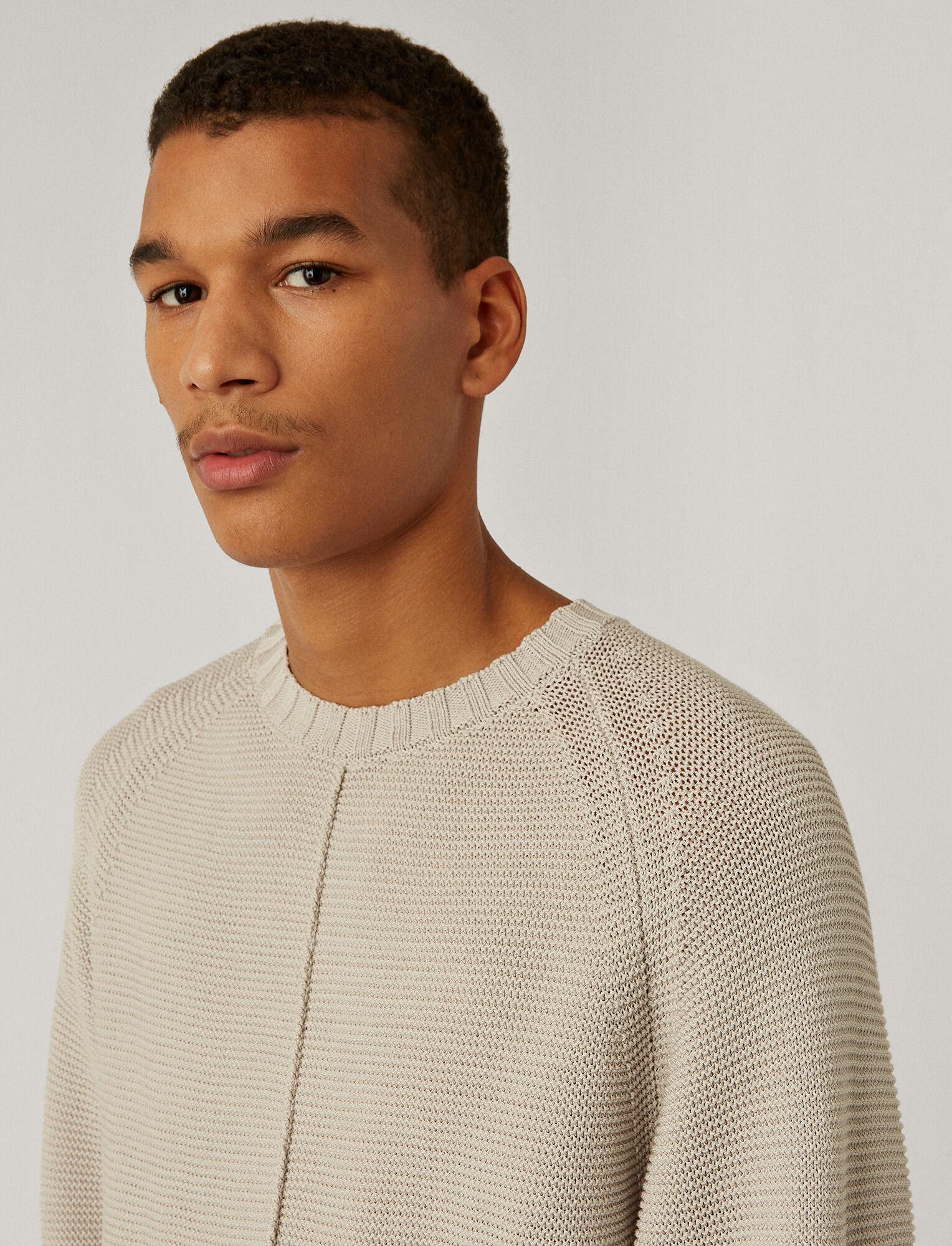 Joseph, Mercerised Cotton Top, in LIGHT GREY
