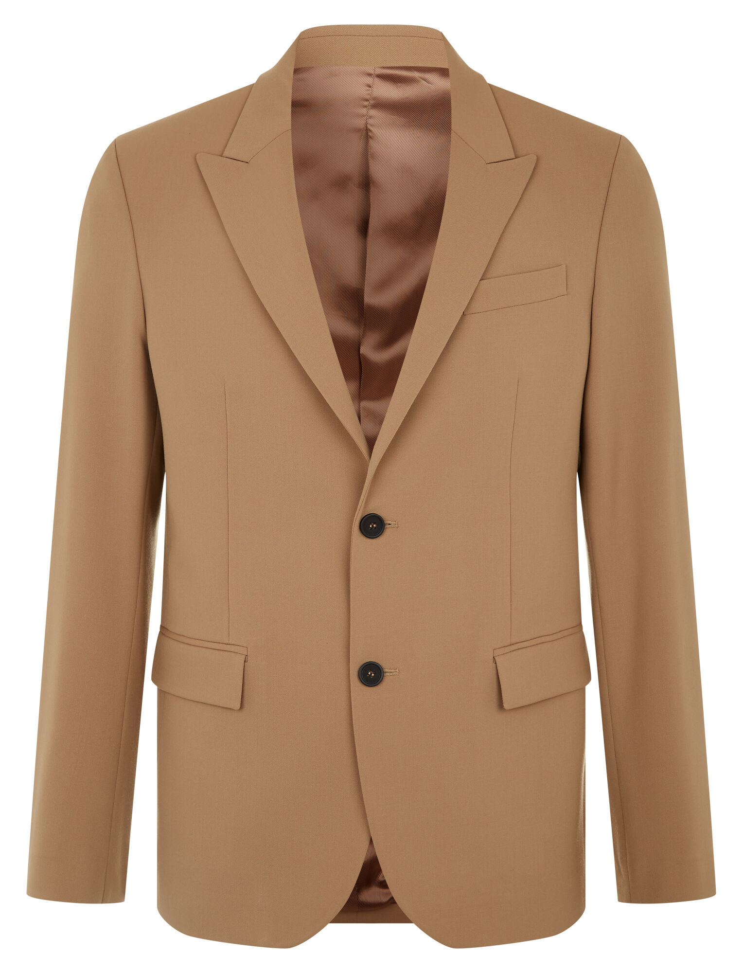 Joseph, Cannes Techno Wool Stretch Blazer, in CAMEL