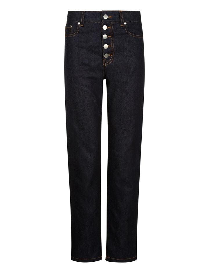 Joseph, Den Japanese Stretch Denim Trousers, in BLUE