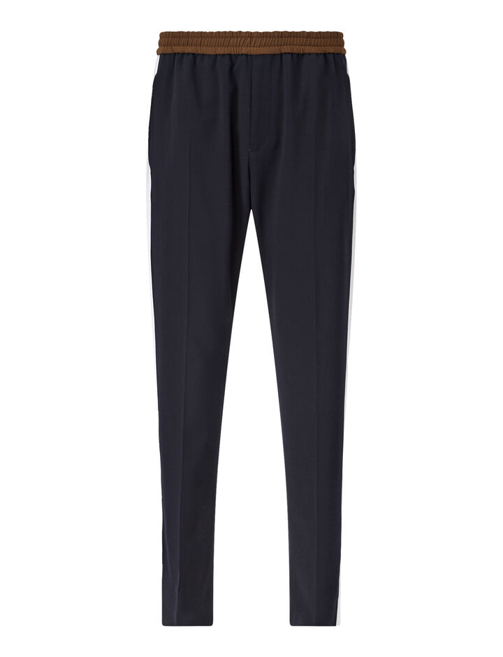 Joseph, Eza-Techno Wool Stretch, in NAVY