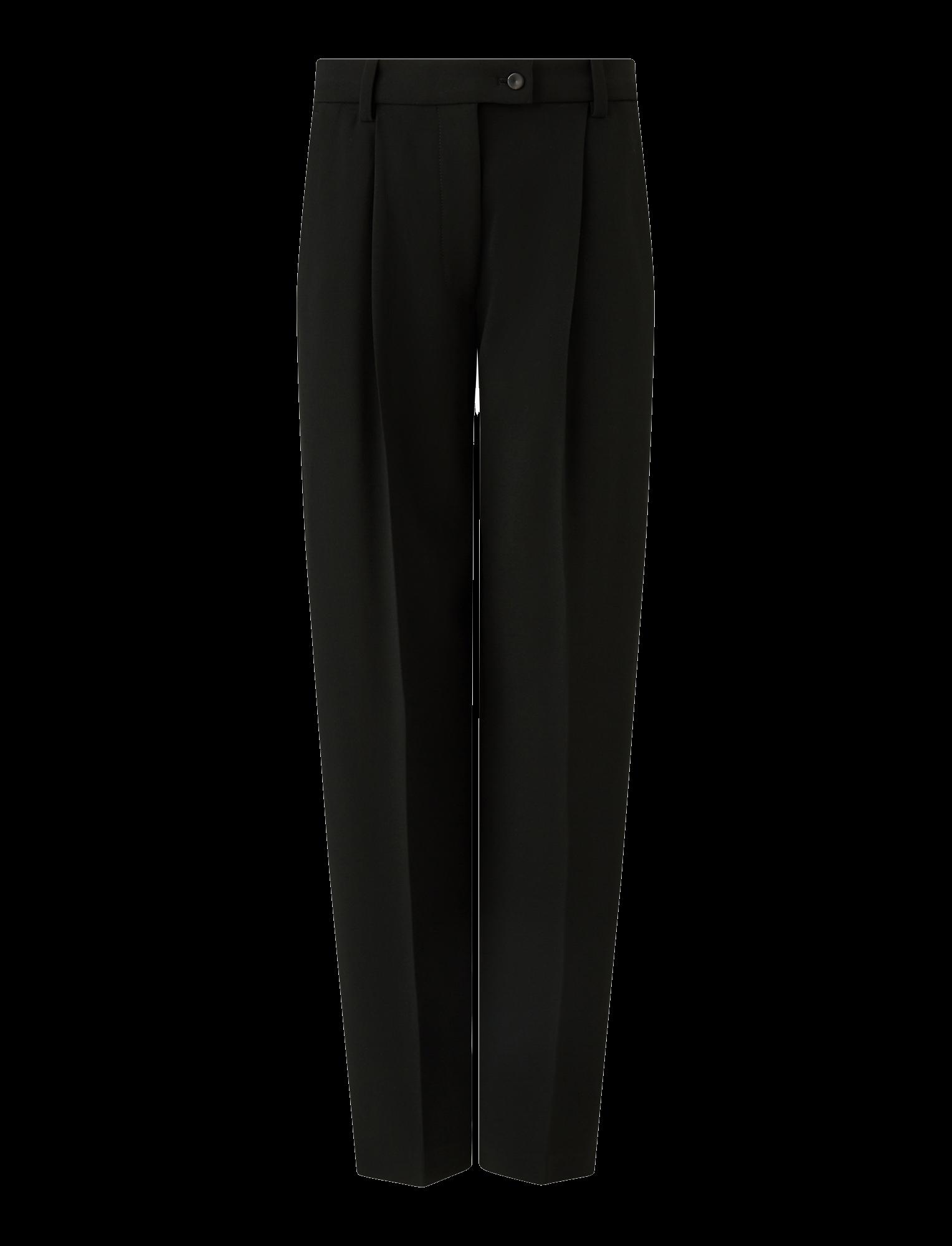 Joseph, Arbala Stretch Acetate Viscose Trousers, in BLACK
