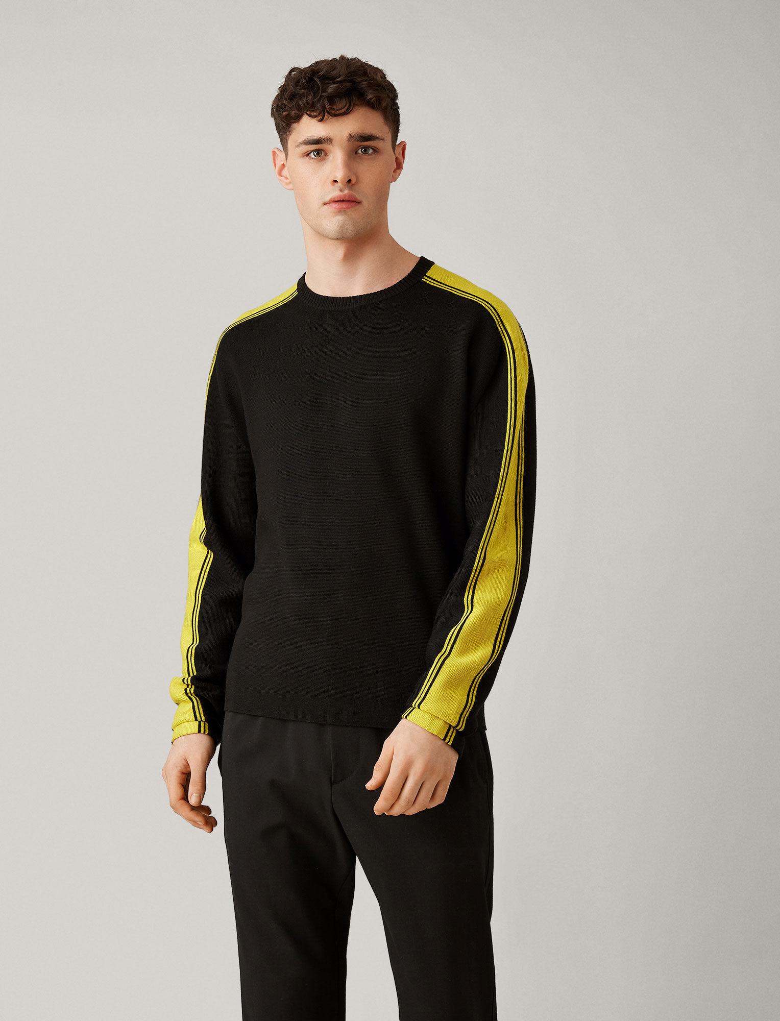 Joseph, Raglan Sports Milano Knit, in BLACK