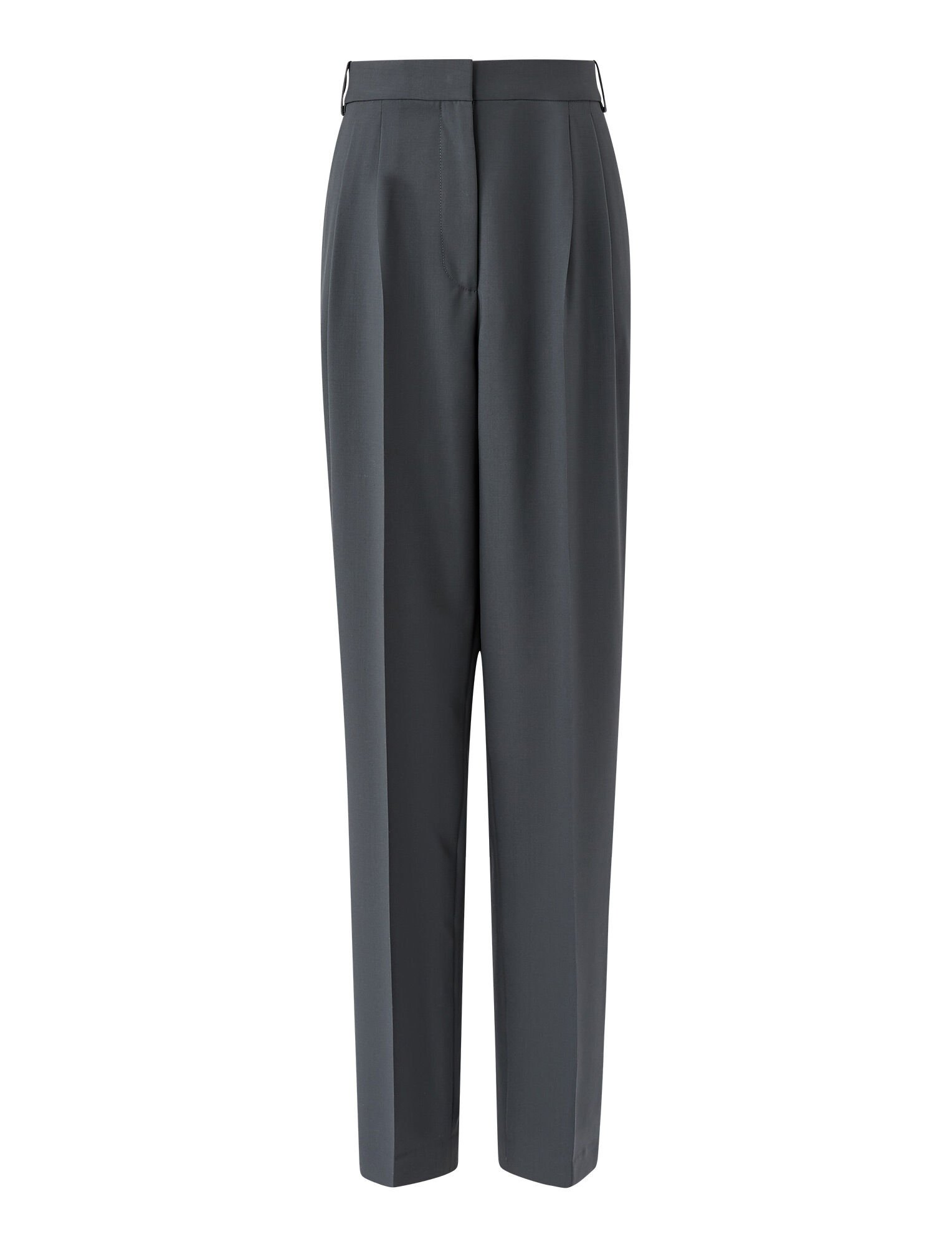 Joseph, Fender Toile de Laine Trousers, in SLATE GREY