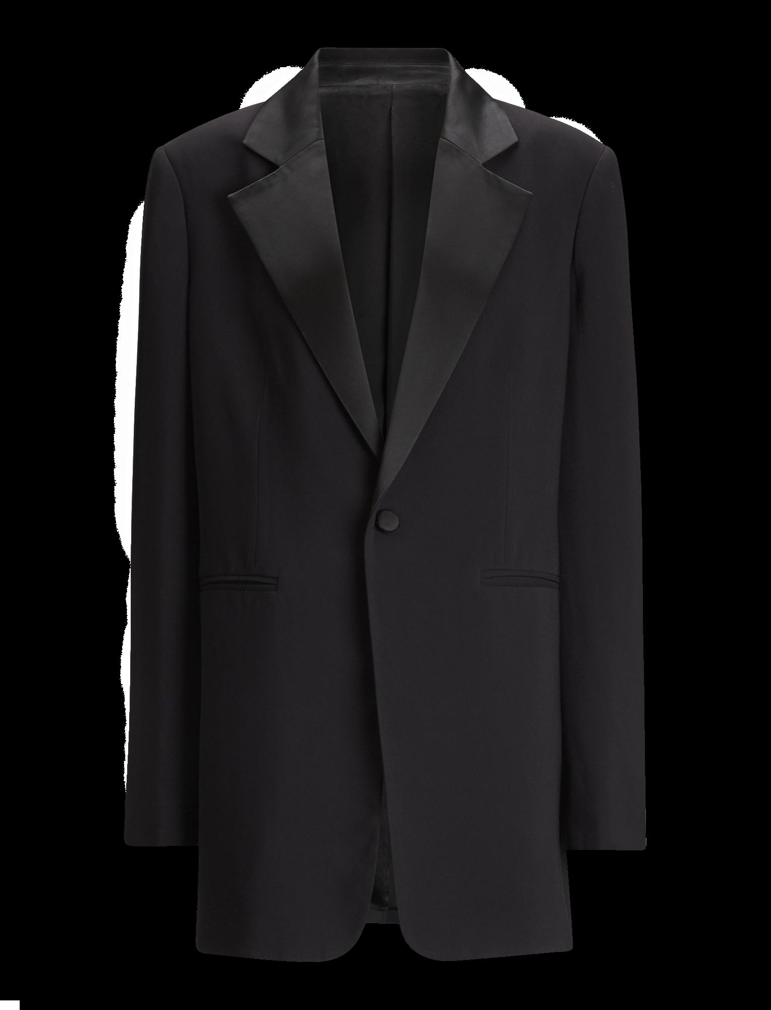 Joseph, Stearn Fluid Tuxedo Jacket, in BLACK