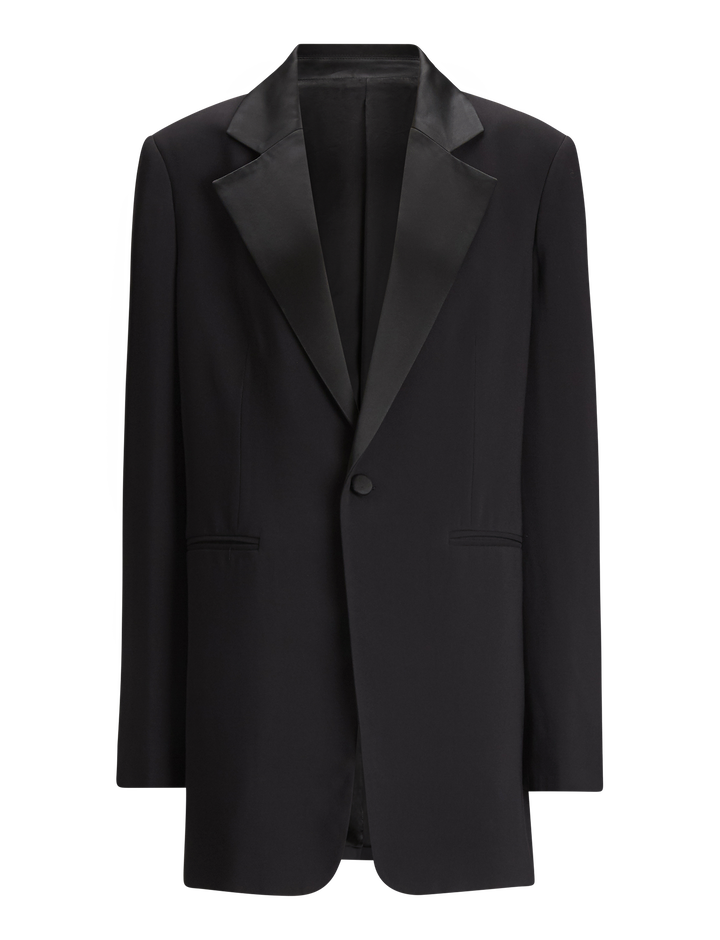 Joseph, Stearn Fluid Tuxedo Jacket, in BLACK