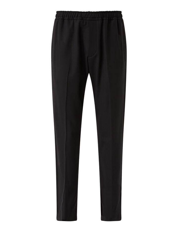 Joseph, Techno Wool Stretch Eza Trousers, in NAVY