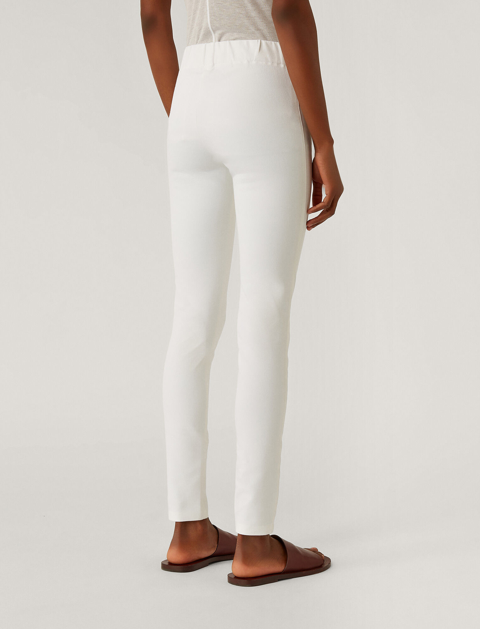 Joseph, Gabardine Stretch Legging, in WHITE