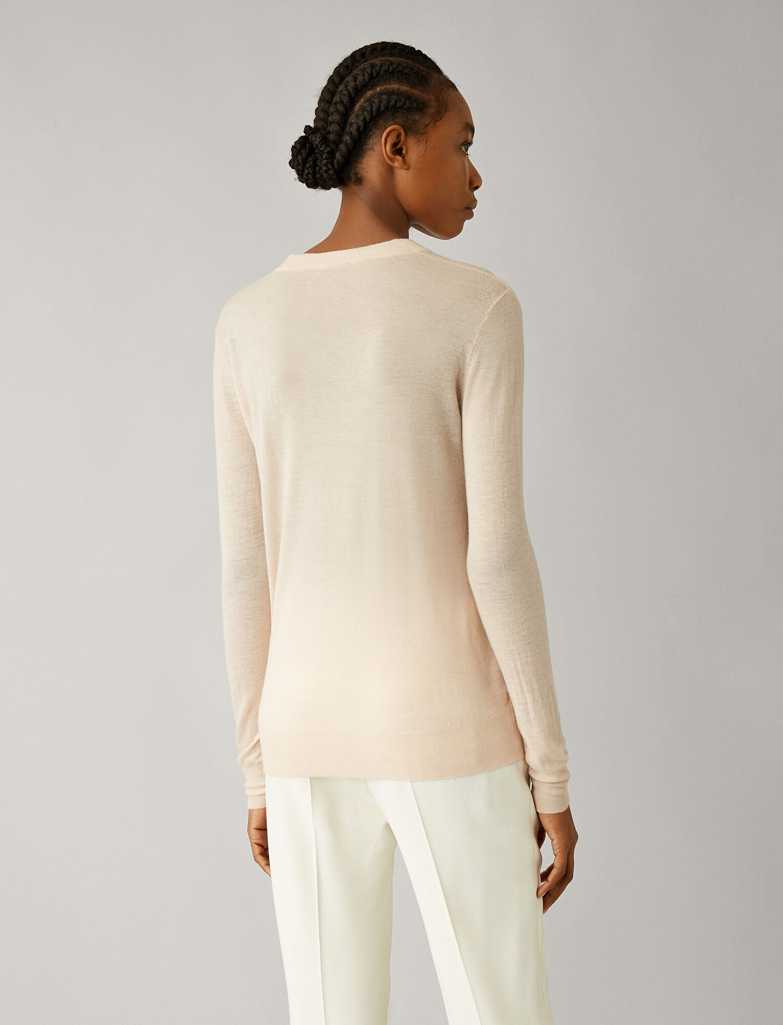 Joseph, Cashair Knit, in ROSEWATER