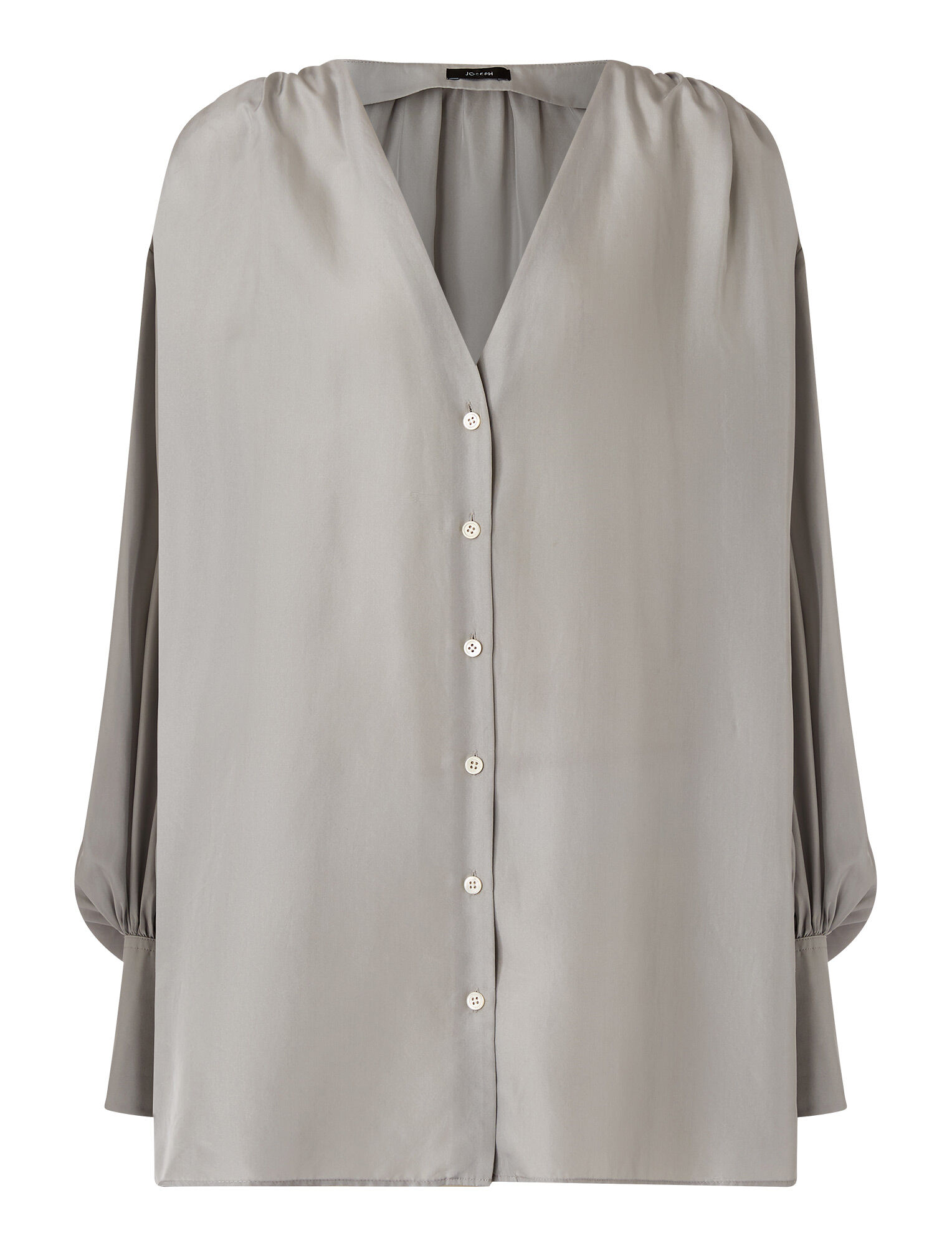 Joseph, Habotai Barry Blouse, in CLOUD