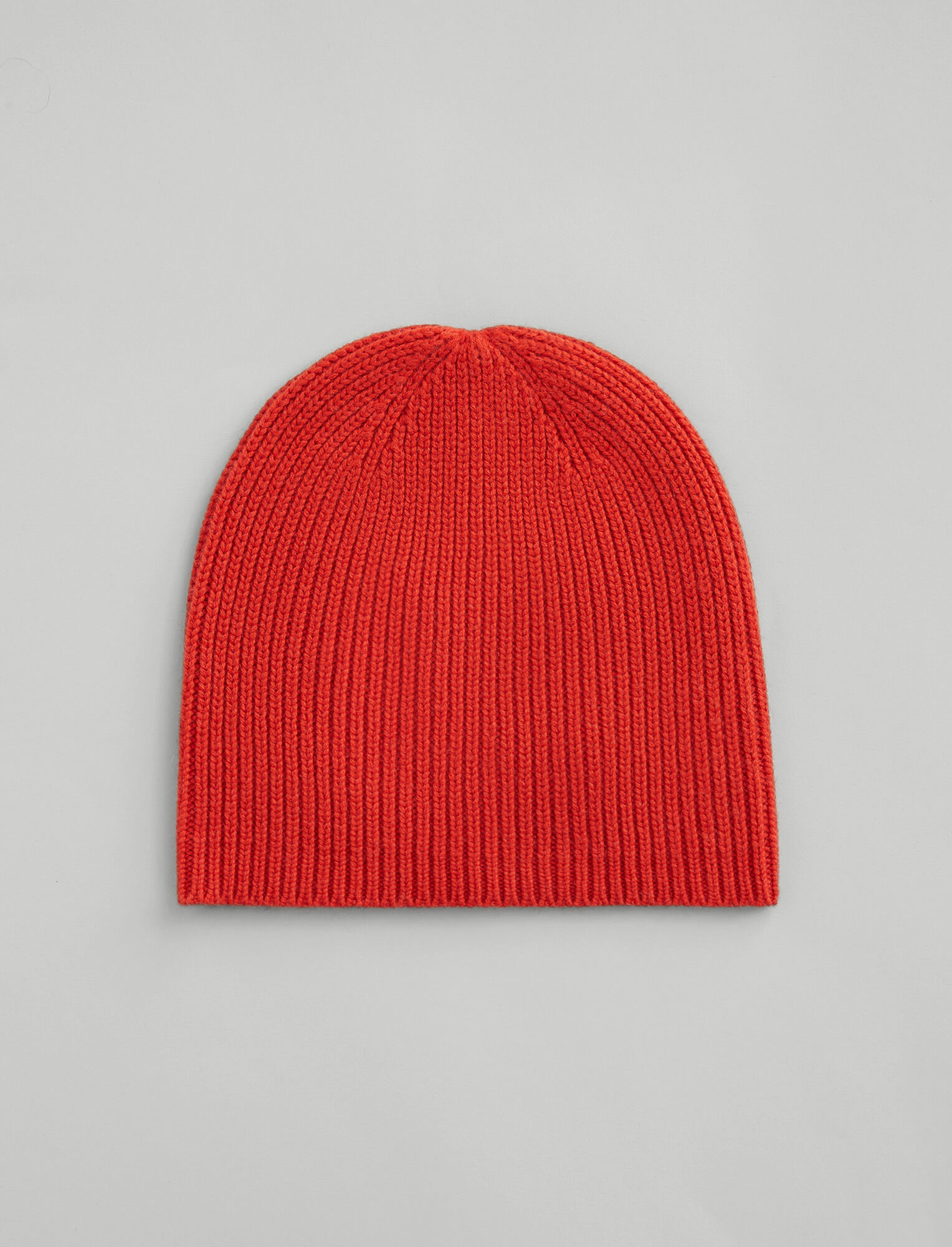 Joseph, Wool Cashmere Knit Hat, in DARK ORANGE