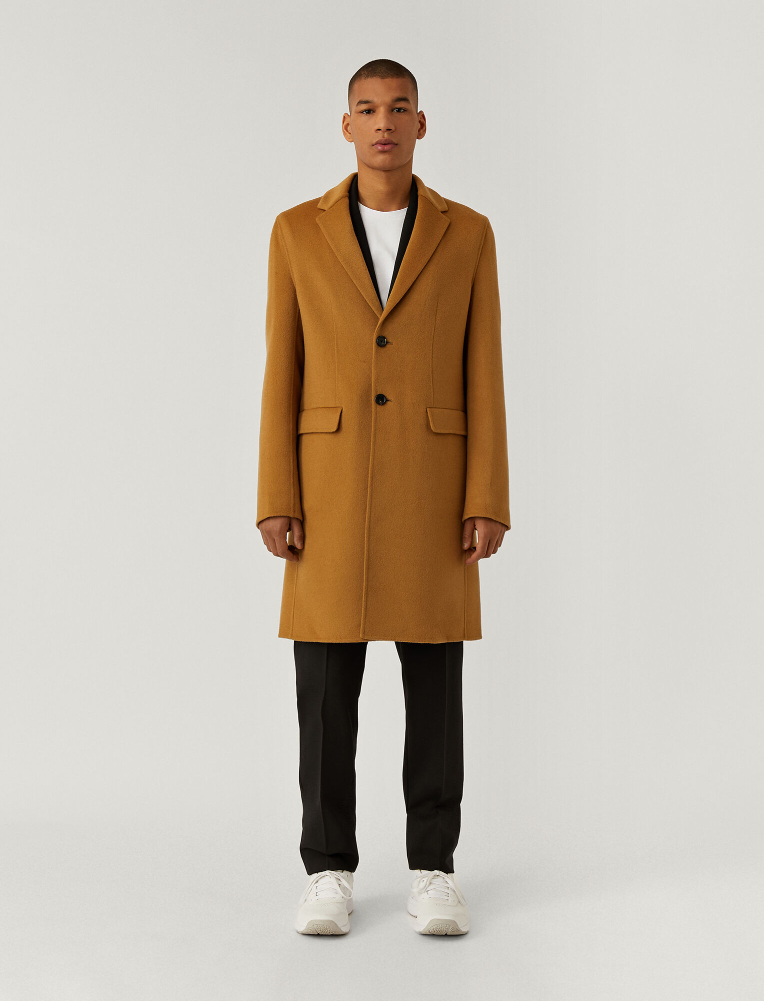 Joseph, Double Face Cashmere Coat, in CAMEL