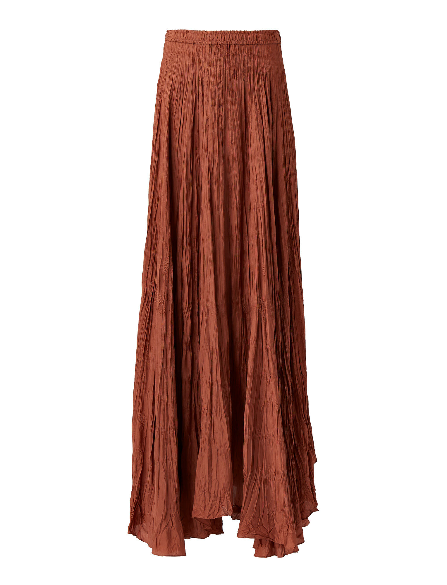 Joseph, Nanco Silk Habotai Skirt, in DUSTY ROSE