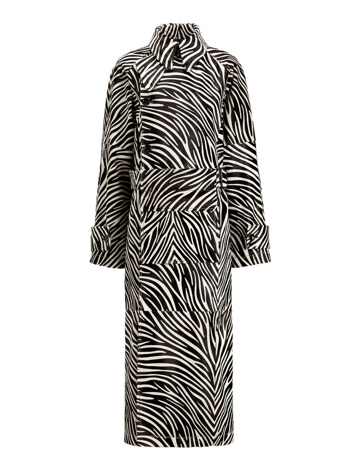 Joseph, Stafford Zebra Dress, in BLACK/WHITE