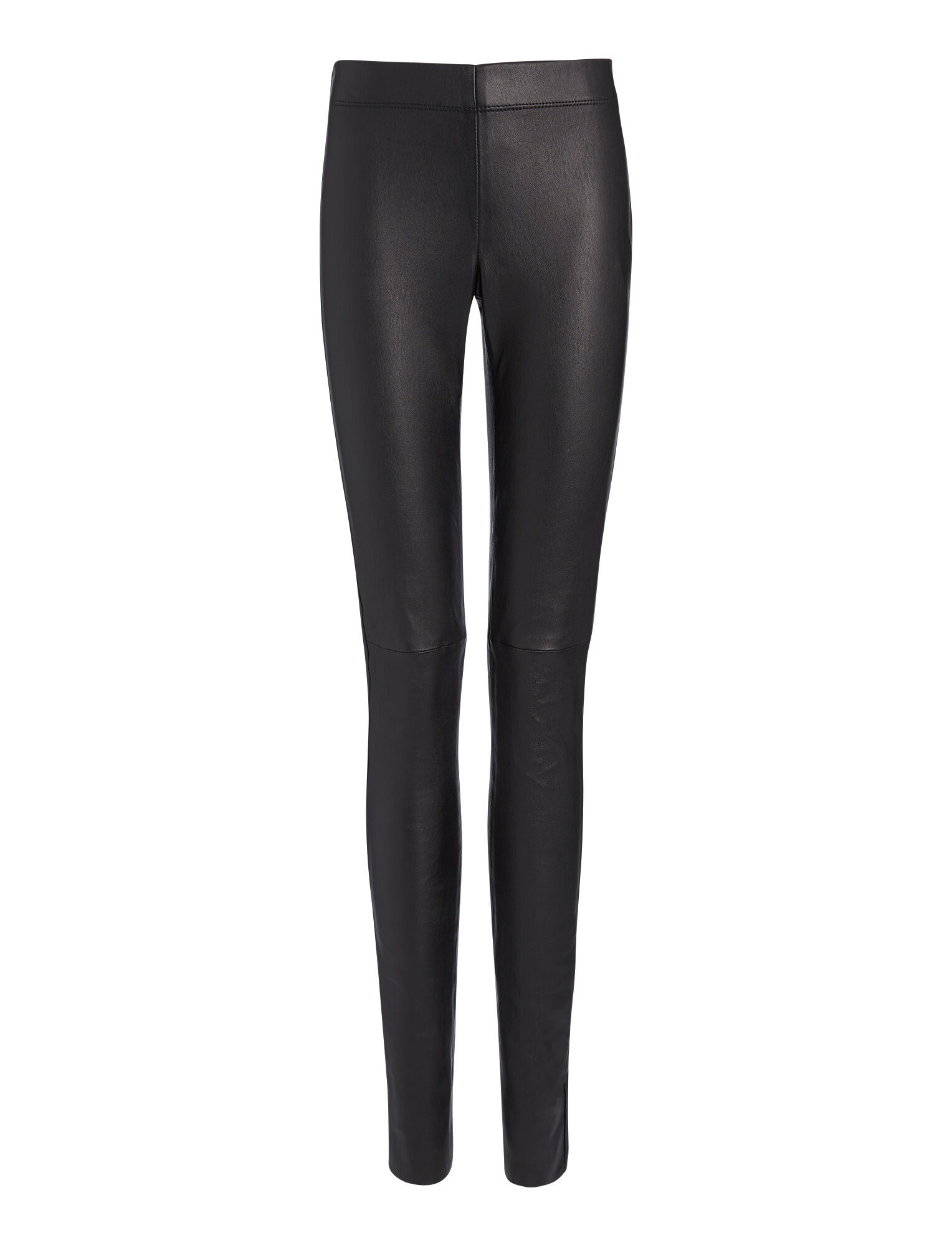 4fd7712fc9666 Joseph, Stretch Leather Legging, in BLACK ...