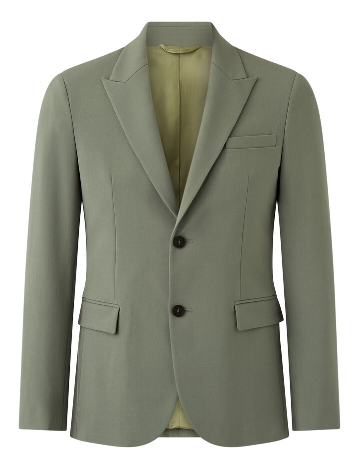 Joseph, Cannes-Techno Wool Stretch, in SAGE
