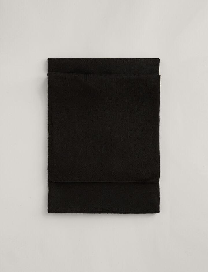Joseph, Tube Cashair Scarf, in BLACK