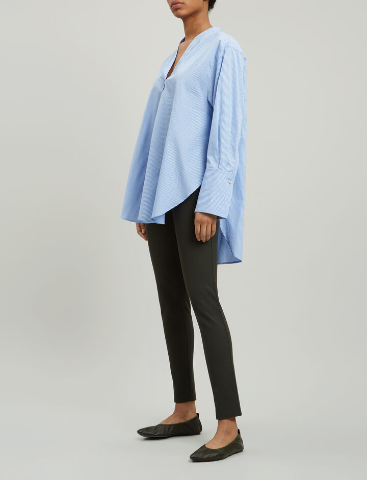 Joseph, Gabardine Stretch Leggings, in BERMUDA
