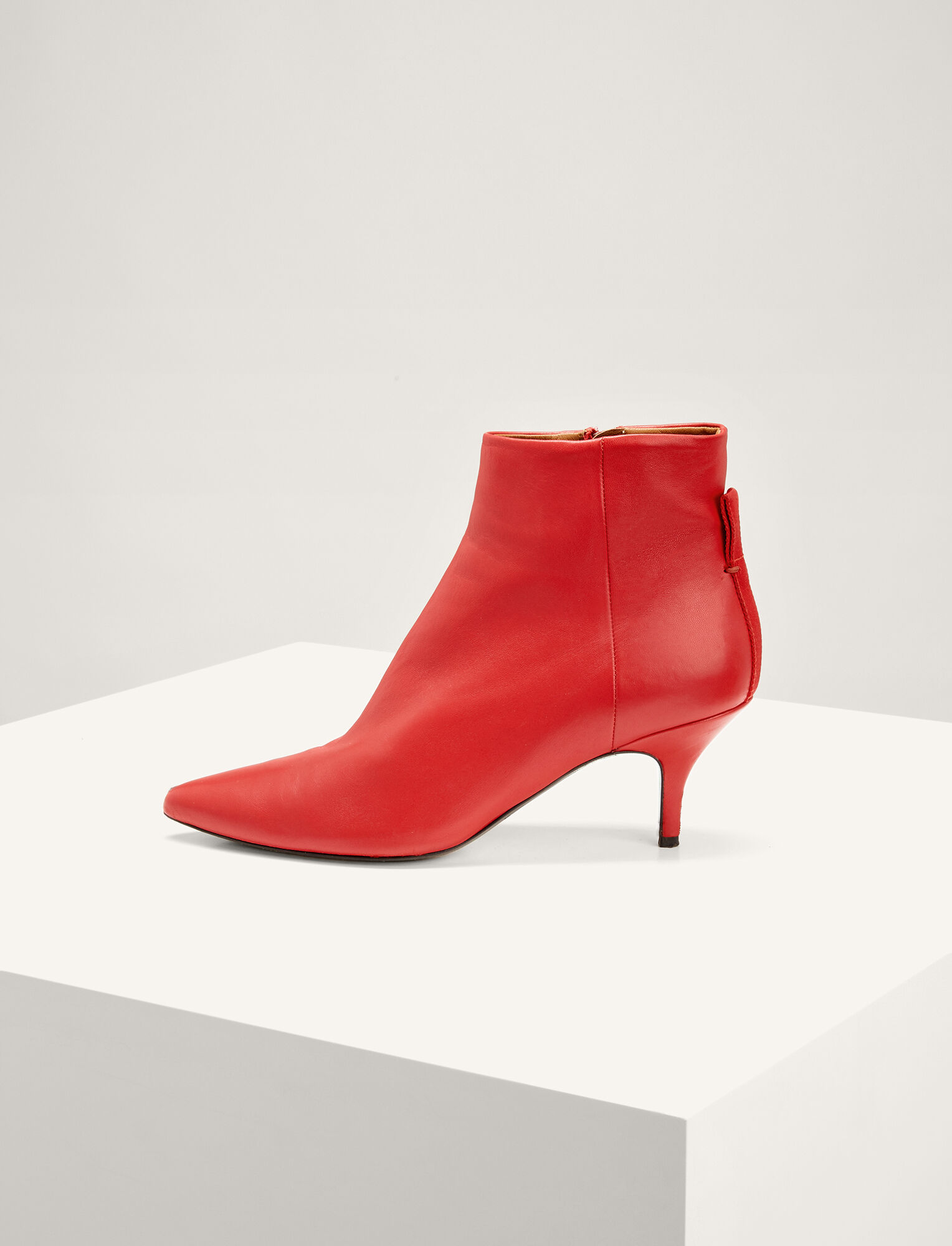 Joseph, Bottines Sioux Pointed, in RED