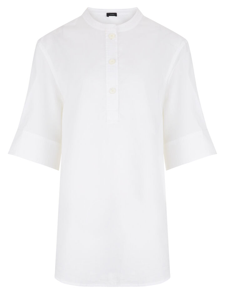 Joseph, Jay Chintz Cotton Blouse, in WHITE