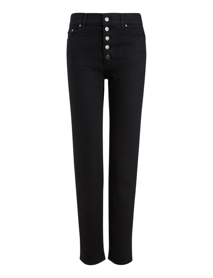Joseph, Den Noir Denim Trousers, in BLACK