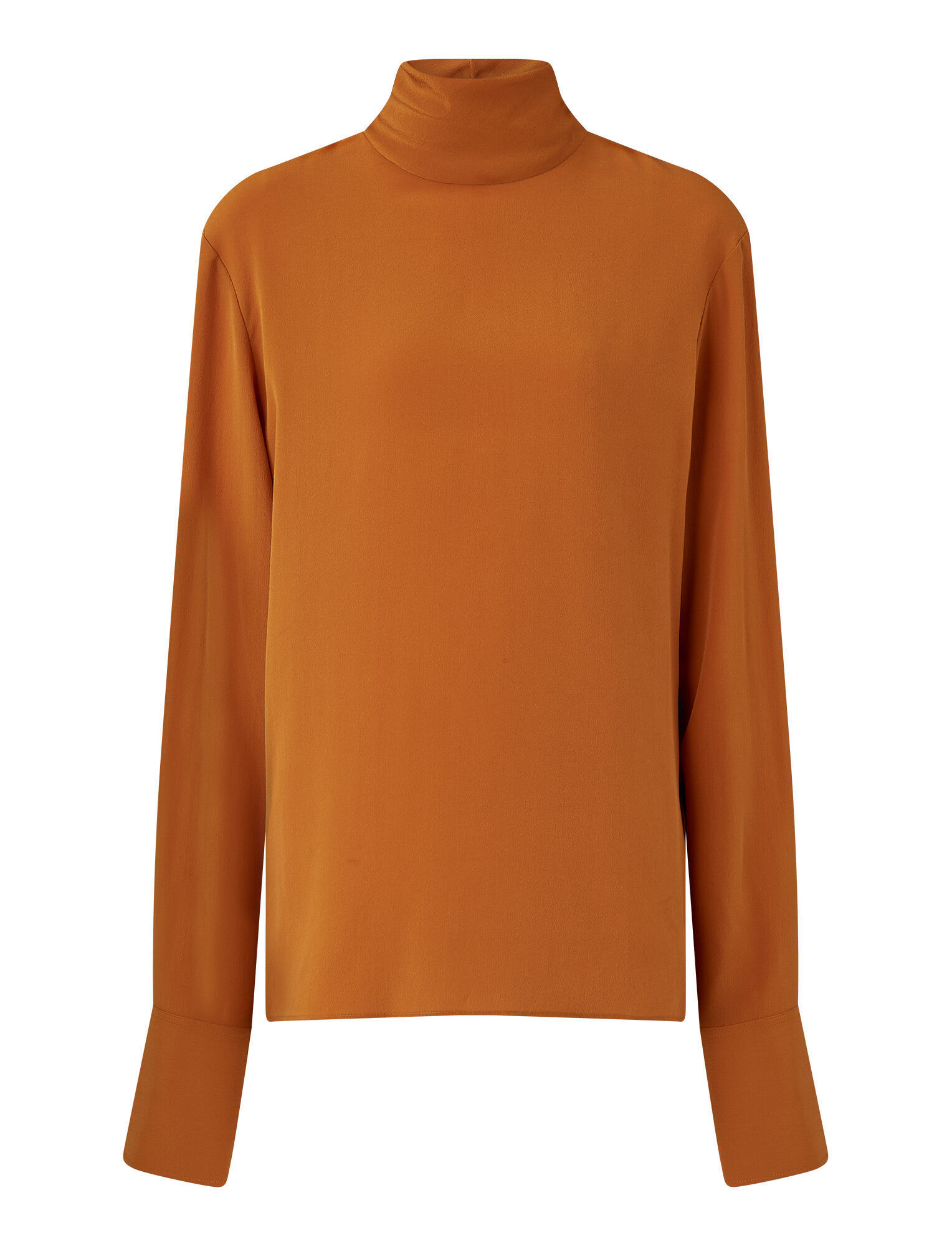 Joseph, Biva Crepe De Chine Blouse, in Fox