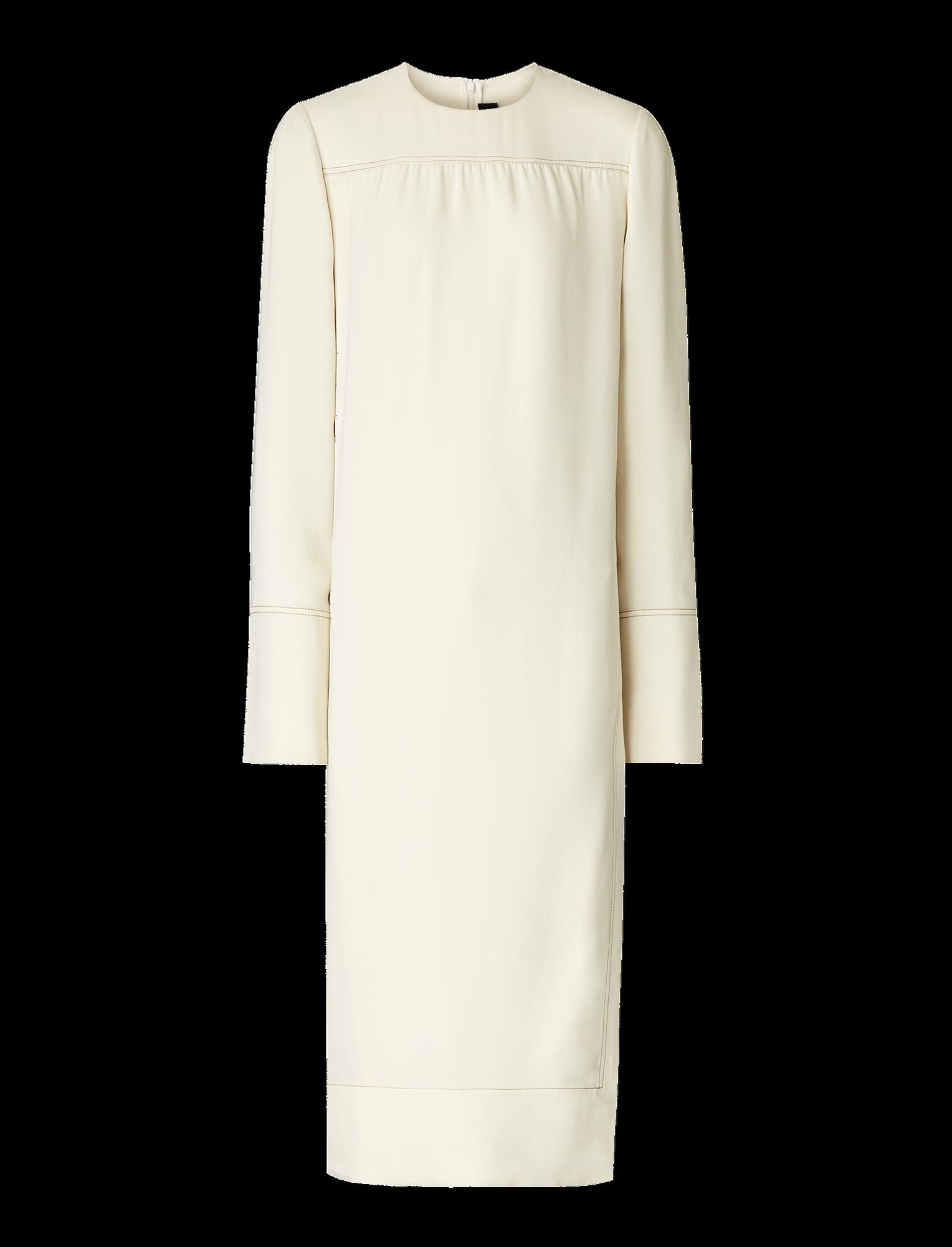 Joseph, Arlan Silk Crepe Dress, in MASTIC