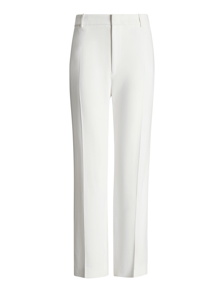 Joseph, Coman Stretch Acetate Viscose Trousers, in WHITE