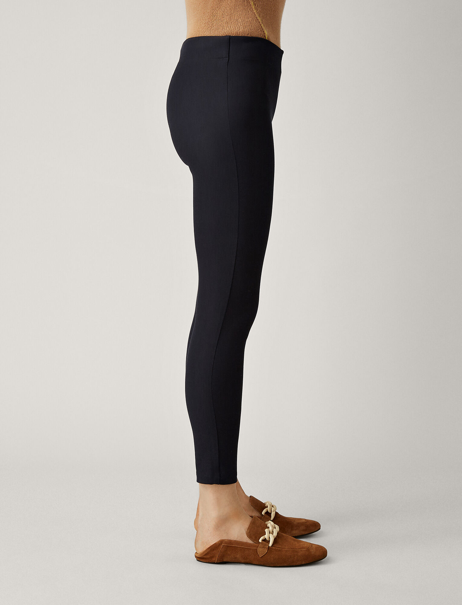Joseph, Nitro Gabardine Stretch Leggings, in NAVY