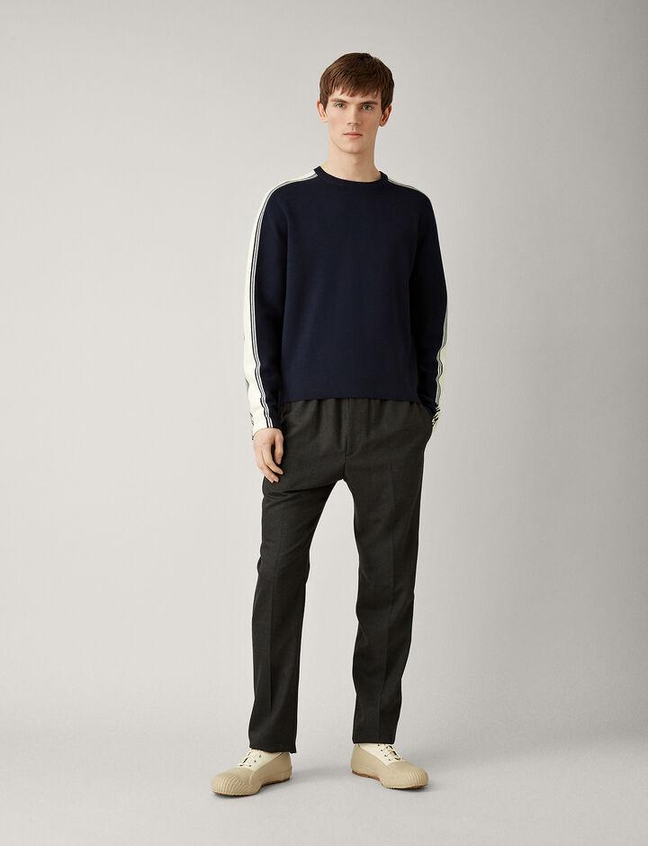 Joseph, Raglan Sportwear Milano Knit, in NAVY