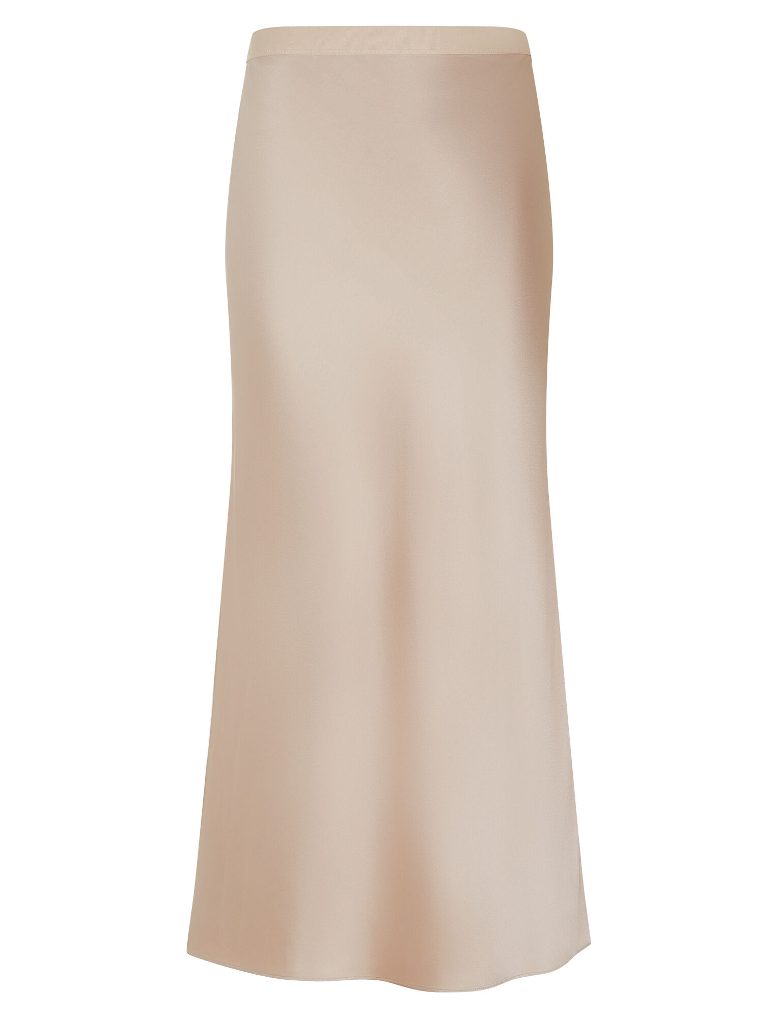 Hurst Silk Satin Skirt by Joseph