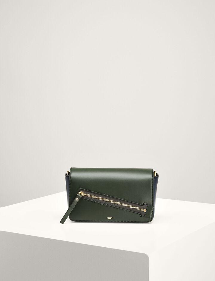 Joseph, Leather Warwick Bag, in BERMUDA/NAVY