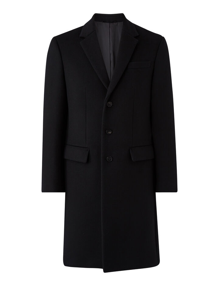 Joseph, London-Double Wool, in BLACK