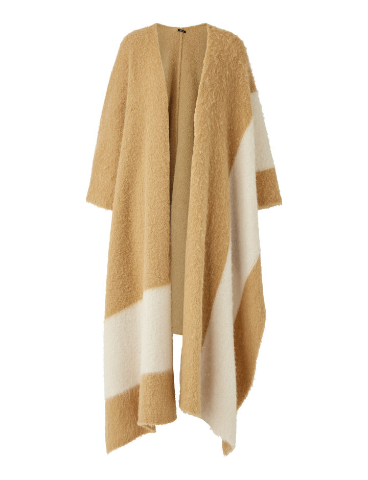 Joseph, Kaftan-Brushed Knit, in CAMEL COMBO