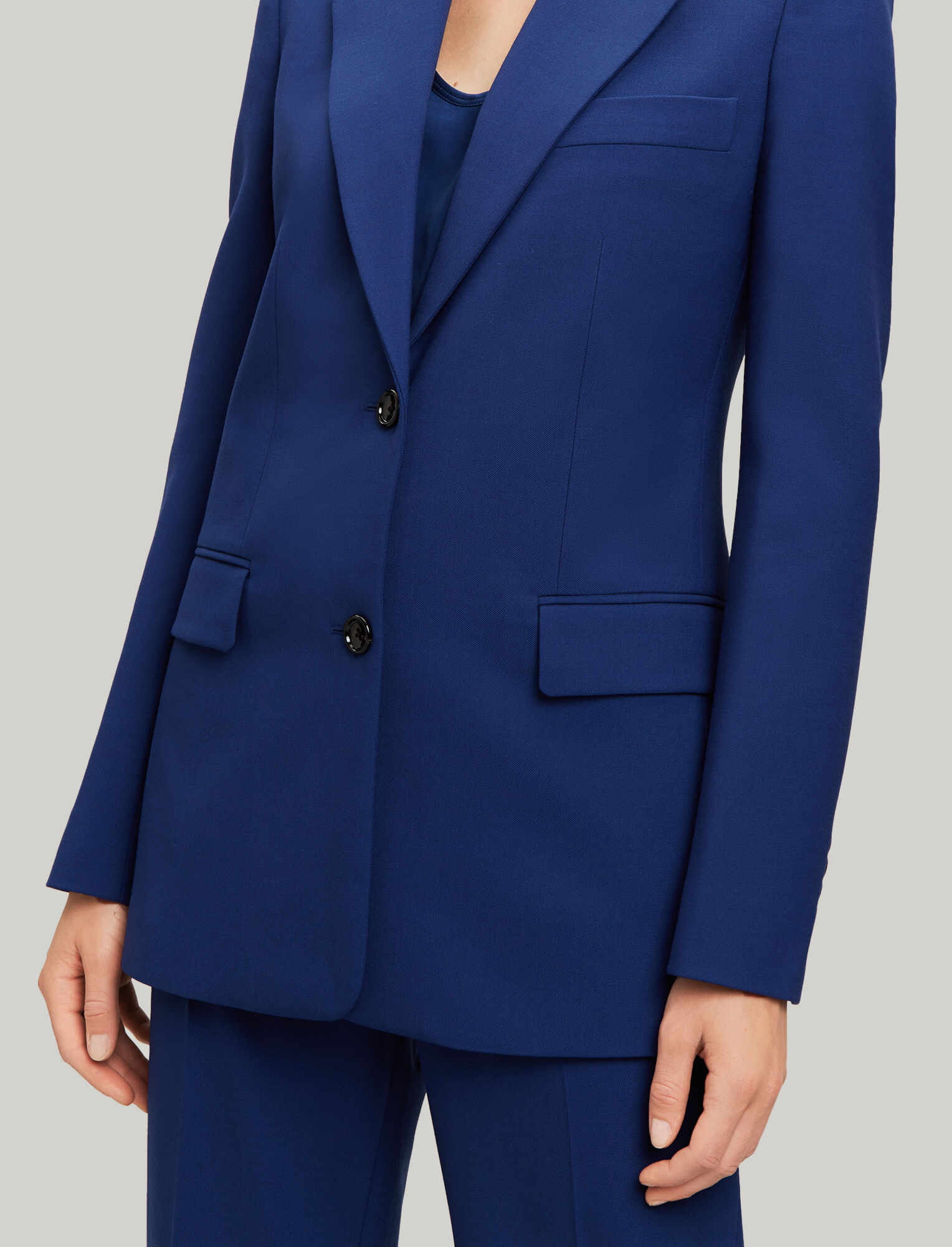 Joseph, New Lorenzo Comfort Wool Jacket, in INDIGO
