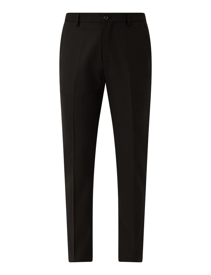 Joseph, Techno Wool Stretch Jack Trousers, in BLACK