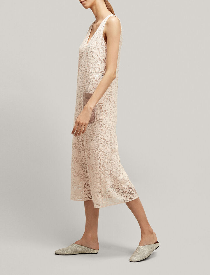 Joseph, Margo Palermo Lace Dress, in BLUSH