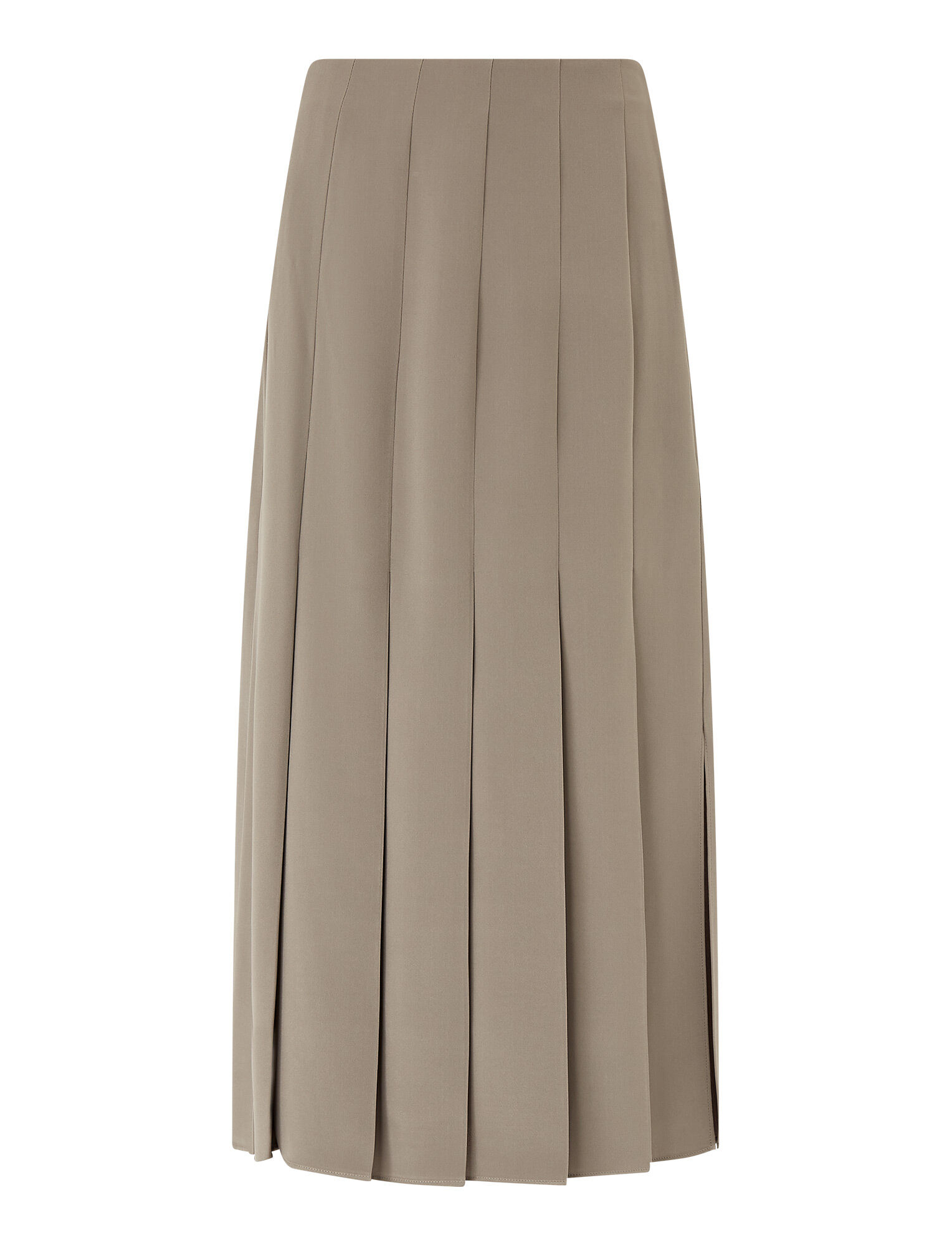 Joseph, Saria Heavy Silk Skirt, in Ash