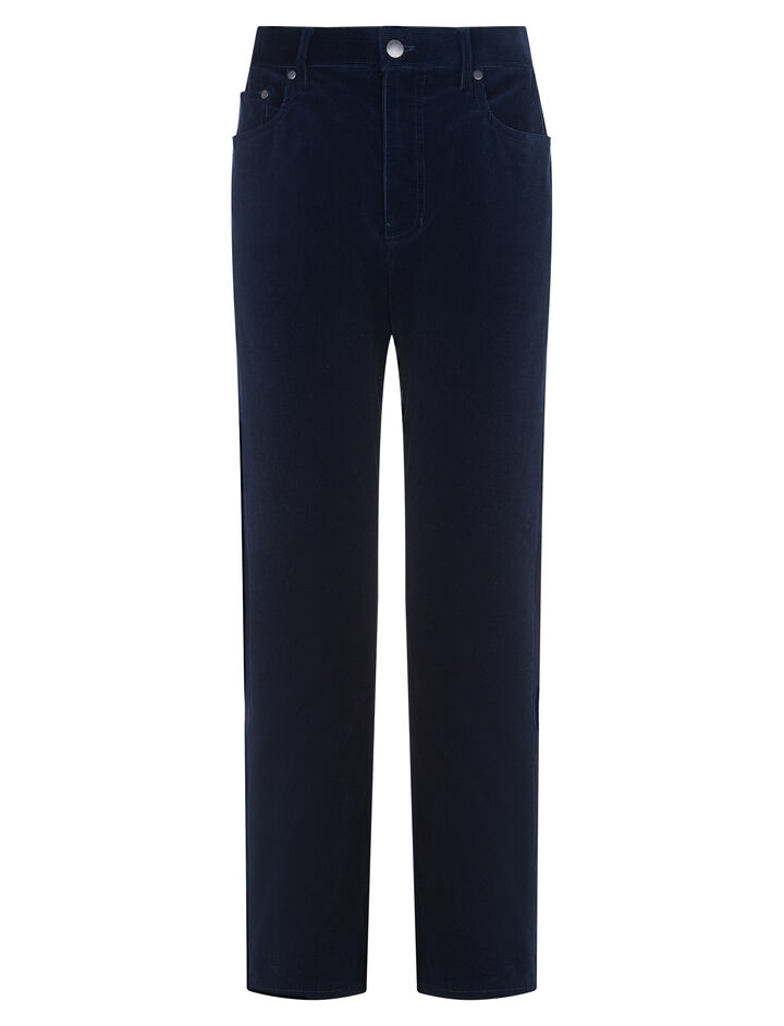 Joseph, Kemp Fine Corduroy Trousers, in NAVY