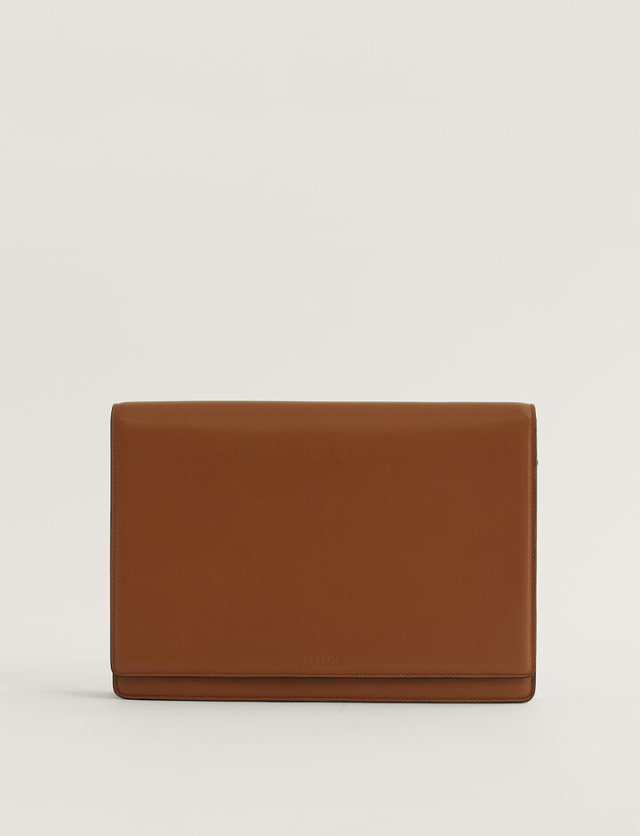 Joseph, Flap Bag Crossbody Bag, in Rust