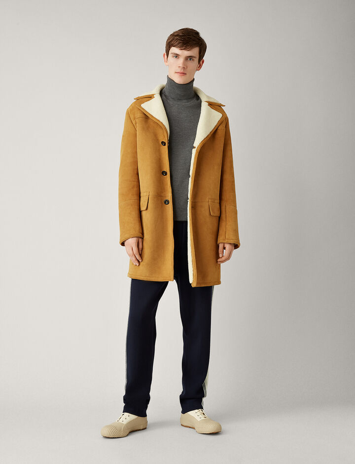 Joseph, Lander Shearling Sheepskin, in TOBACCO