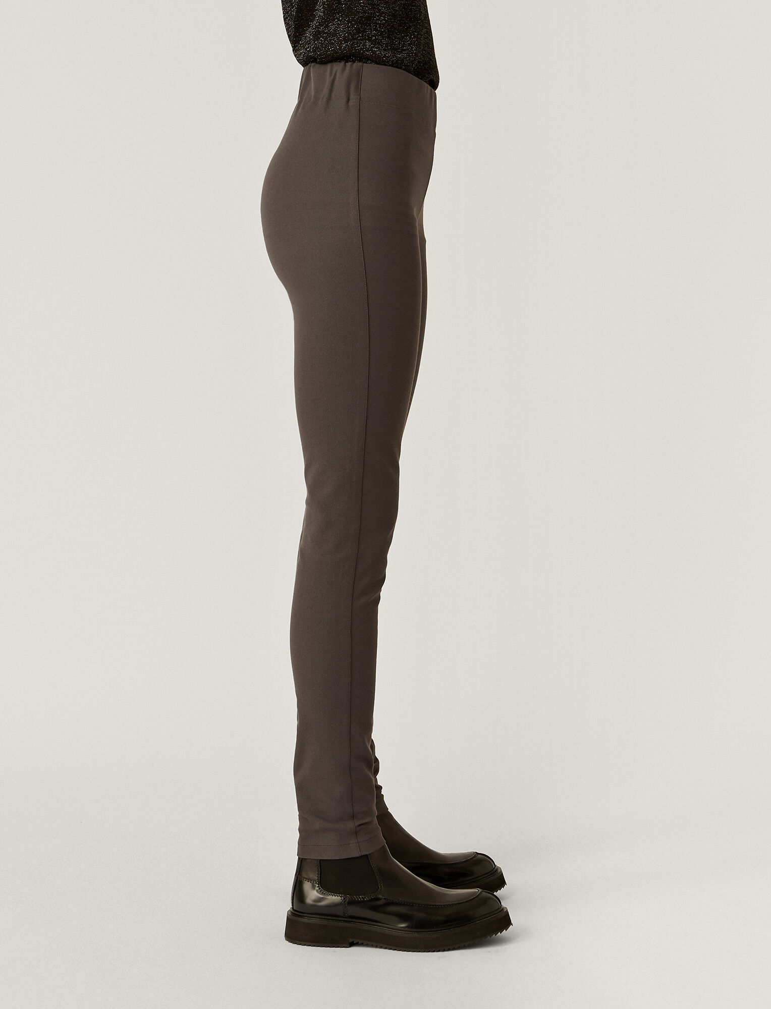 Joseph, Gabardine Stretch Leggings, in CAPERS