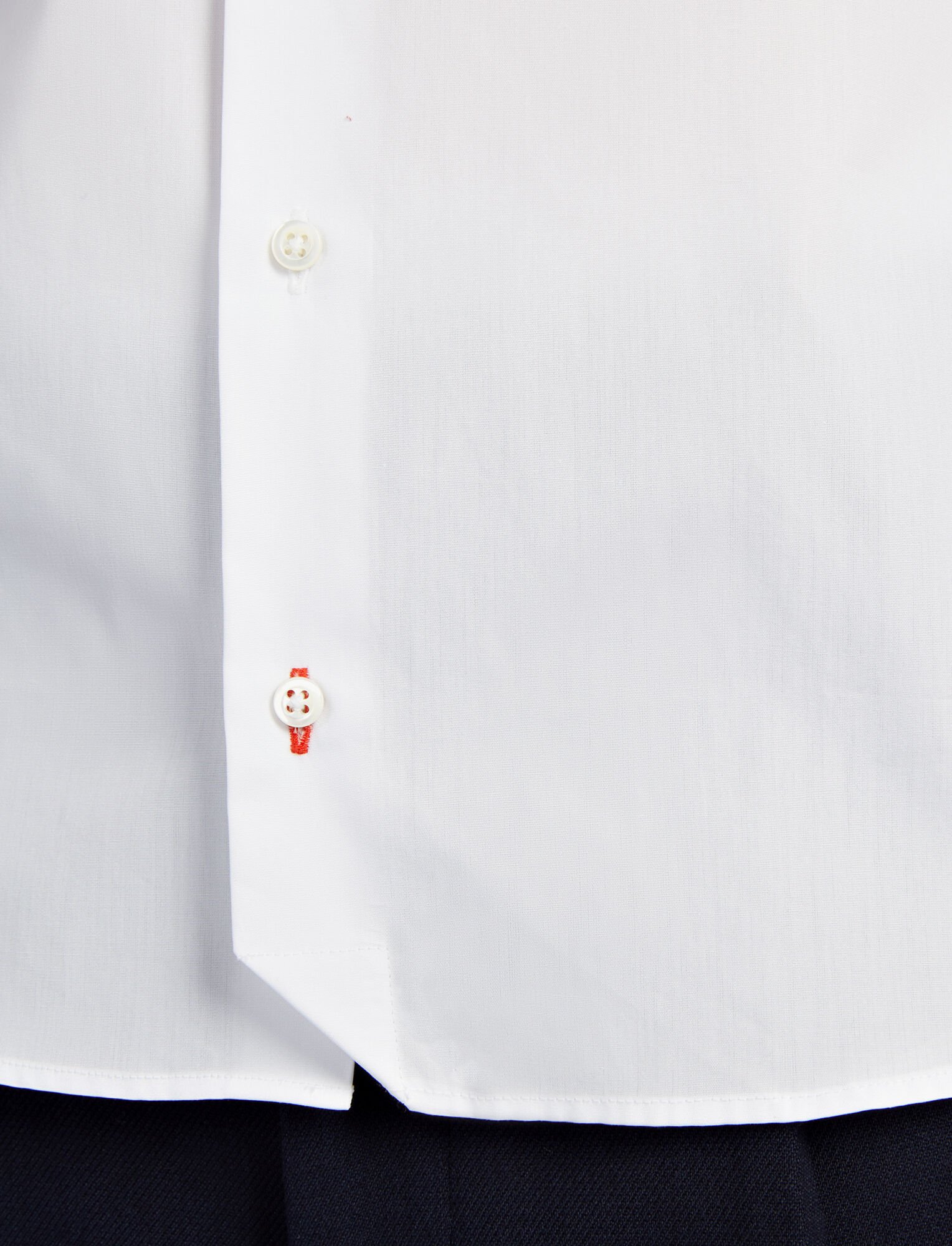 Joseph, Poplin John Shirt, in WHITE