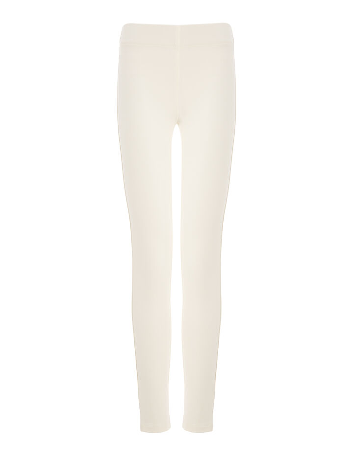Joseph, Gabardine Stretch Leggings, in OFF WHITE
